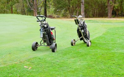 Golf Trolleys: Push / Pull Carts