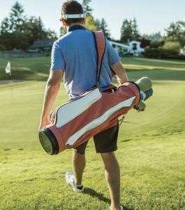 Jones Golf Carry Bag - Original Nantucket Red Canvas