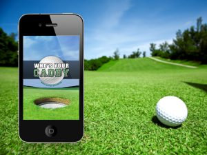 Golf App for smartphone